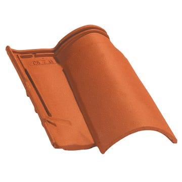 Accessoire terre cuite d'EDILIANS : Tuile 3/4 pureau OMEGA 10 Rouge